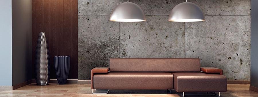 Moderne w nde atelier f r kunst und gestaltung - Wand in betonoptik ...